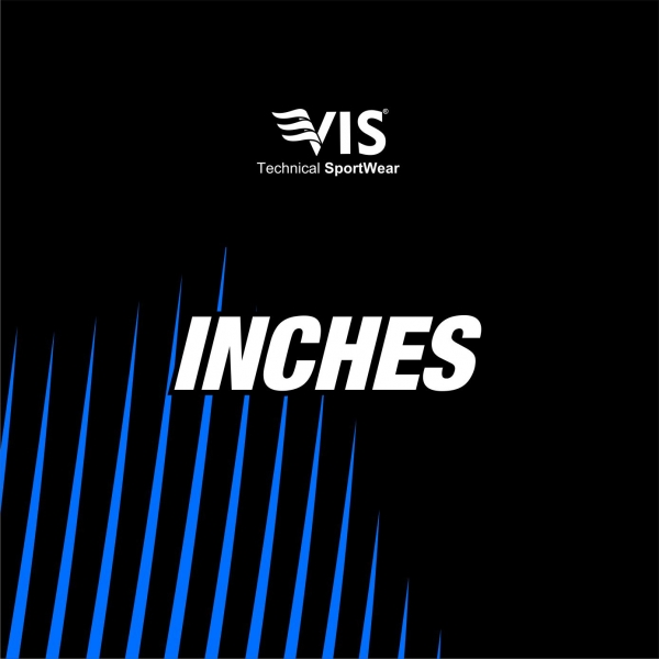 SIZES IN INCHES
