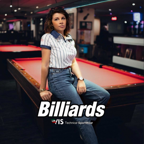 Custom sportswear for billiards