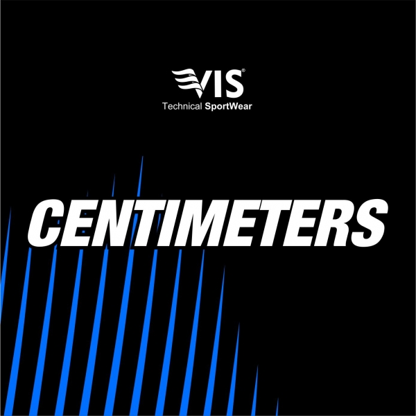 SIZES IN CENTIMETERS
