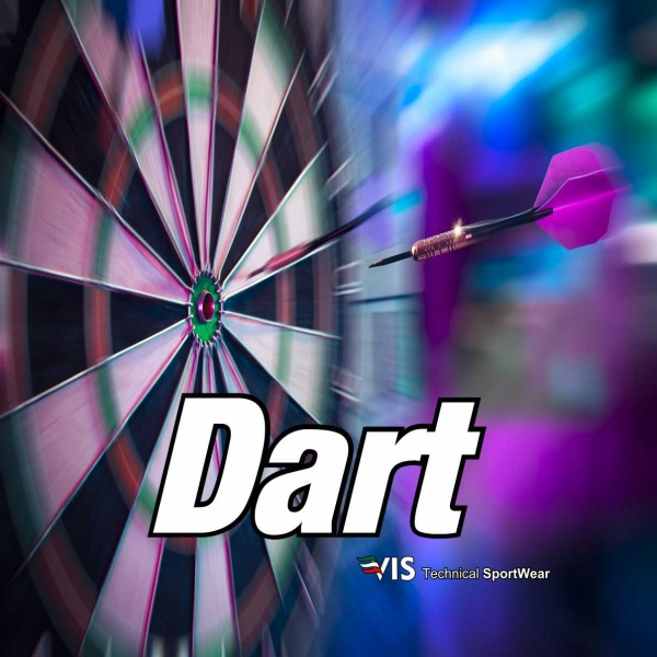 Sportswear customized for the sport of Dart
