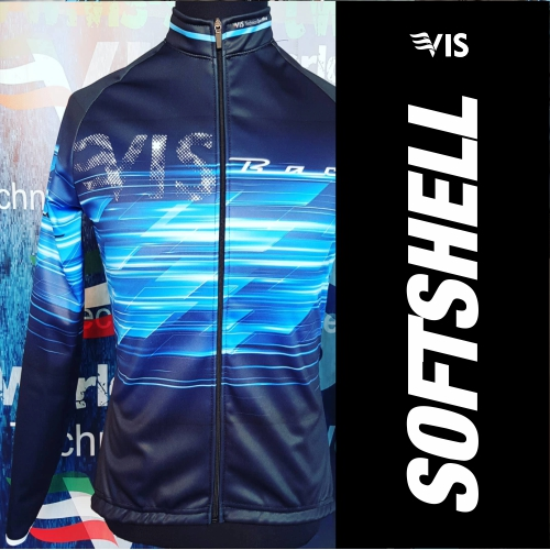 Create your own custom cycling softshell jacket