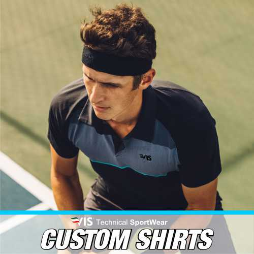 TECHNICAL SHIRTS CUSTOMIZED BY TENNIS
