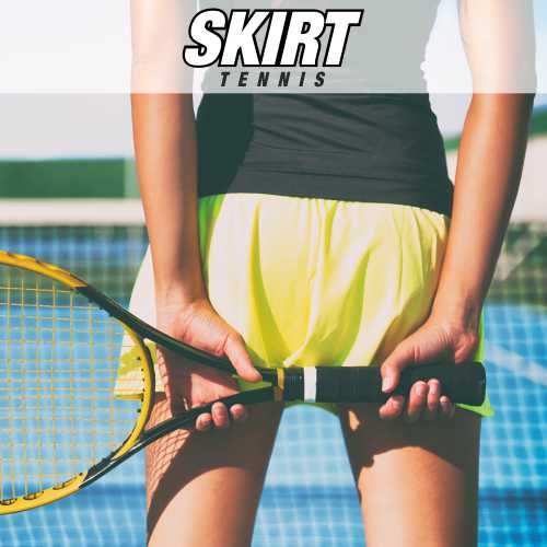 SPORTS SKIRTS customized for tennis and paddle